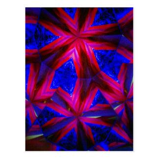 kaleidoscope 9 postcard