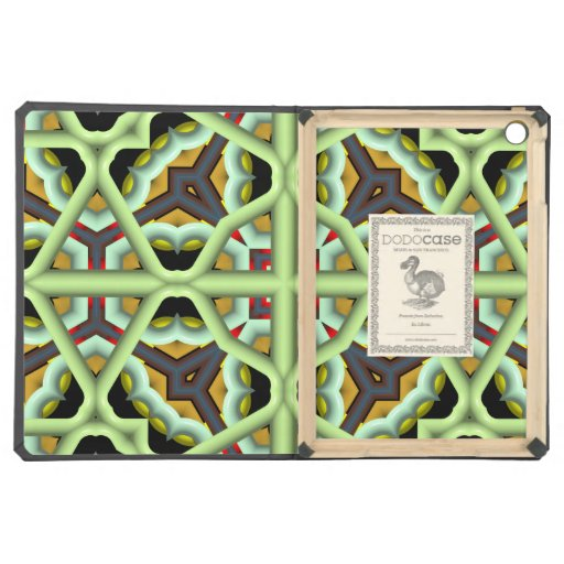 Kaleidoscope Abstract Multicolored Pattern Cover For iPad Air