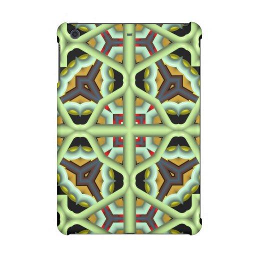 Kaleidoscope Abstract Multicolored Pattern iPad Mini Cases