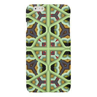 Kaleidoscope Abstract Multicolored Pattern iPhone 6 Plus Case