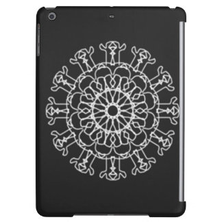 Kaleidoscope abstract pattern case for iPad air