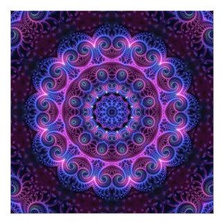 Kaleidoscope Apophysis Mandala Hearts Photograph