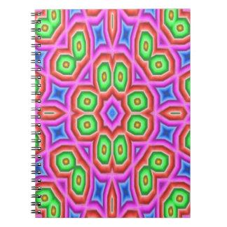 Kaleidoscope art notebook