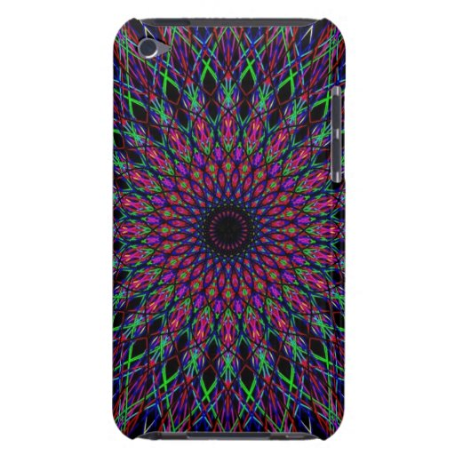 Kaleidoscope Barely There Case For IPod Touch iPod Touch Cover