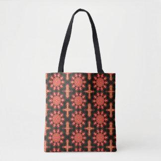 Kaleidoscope Buds Tote Bag