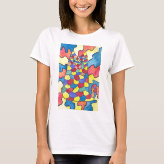 Kaleidoscope cat T-Shirt