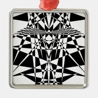 kaleidoscope christmas ornament