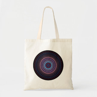 Kaleidoscope circle tote bag