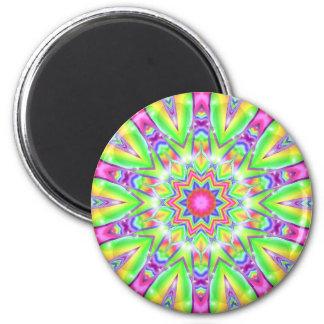 Kaleidoscope Circus Magnet