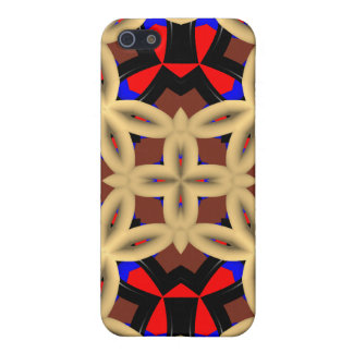 Kaleidoscope colorful abstract pattern cover for iPhone 5/5S