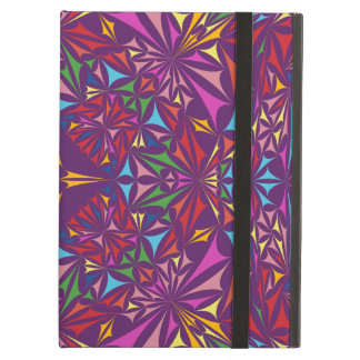 Kaleidoscope colors case for iPad air