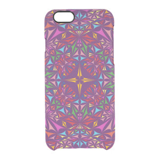 Kaleidoscope colors clear iPhone 6/6S case