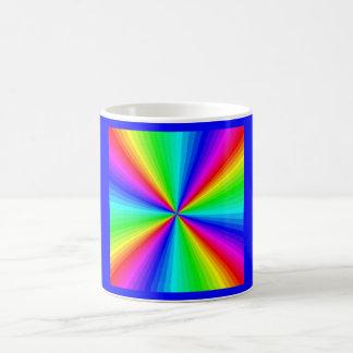 kaleidoscope-colors coffee mug