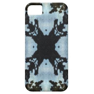 Kaleidoscope cow hide pattern iPhone 5 case