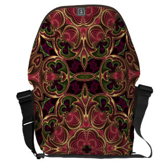 Kaleidoscope Cross Abstract Tapestry Pattern Commuter Bag