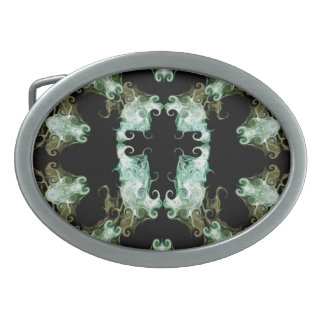Kaleidoscope Cross design Belt Buckle