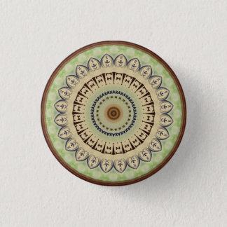Kaleidoscope Design 3 Cm Round Badge