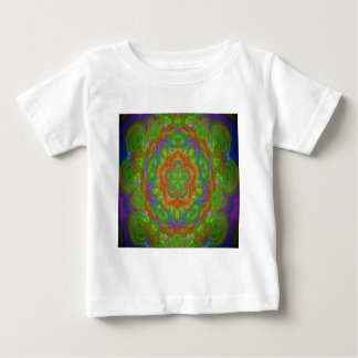 kaleidoscope design image green shirts