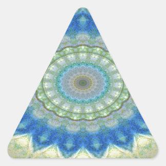 """Kaleidoscope"" design image Triangle Sticker"