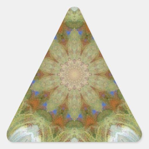 kaleidoscope design image sticker