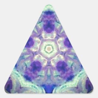 kaleidoscope design image triangle sticker