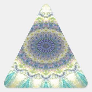 Kaleidoscope design image triangle stickers