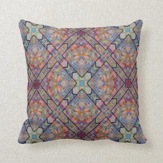 Kaleidoscope Design No 864 Throw Cushion