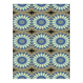 Kaleidoscope design product image-made with love postcard