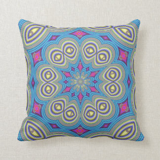 Kaleidoscope Design Throw Pillow