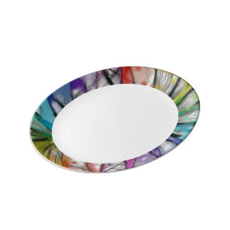 Kaleidoscope Dragonfly Plate