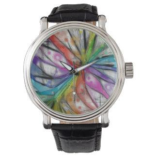 Kaleidoscope Dragonfly Watch