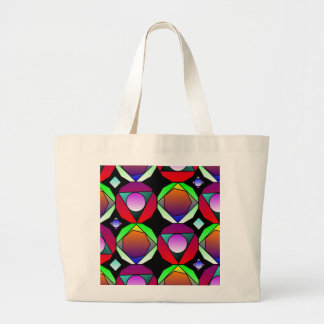 Kaleidoscope Explosion Canvas Bags