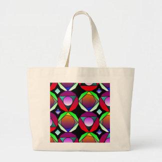 Kaleidoscope Explosion Canvas Bags