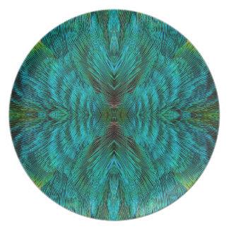 Kaleidoscope Feather Design Plate