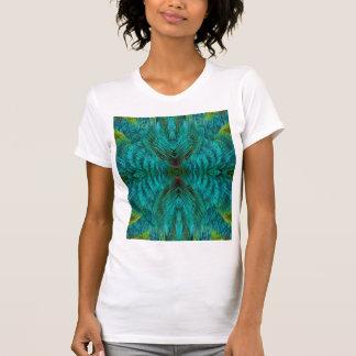 Kaleidoscope Feather Design T-Shirt