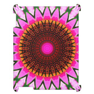 Kaleidoscope Floral Mandala in Hungary: Ed. 197.6 Case For The iPad