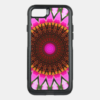 Kaleidoscope Floral Mandala in Hungary: Ed. 197.6 OtterBox Commuter iPhone 7 Case