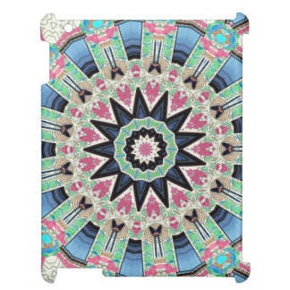 Kaleidoscope Floral Mandala in Vienna: Ed. 220.9 Cover For The iPad 2 3 4