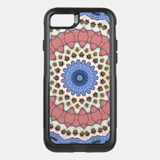 Kaleidoscope Floral Mandala in Vienna: Ed. 221.1 OtterBox Commuter iPhone 8/7 Case