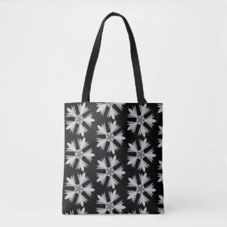 Kaleidoscope Flower Tote Bag