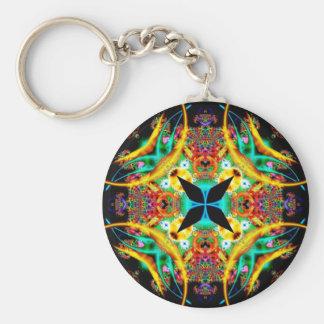 Kaleidoscope Fractal 314 Key Chains