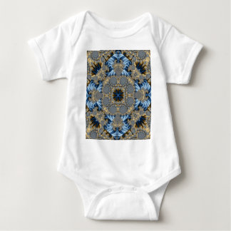 Kaleidoscope Fractal 342 Baby Bodysuit
