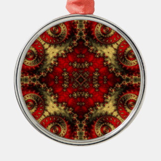 Kaleidoscope Fractal 370 Christmas Ornament
