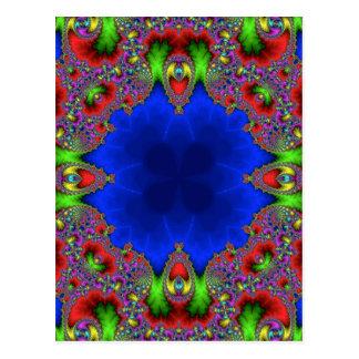 Kaleidoscope Fractal 483 Postcard