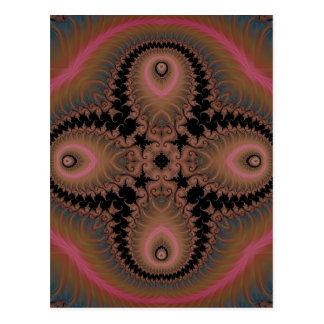 Kaleidoscope Fractal 518 Postcard