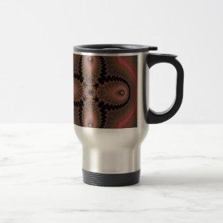 Kaleidoscope Fractal 518 Stainless Steel Travel Mug