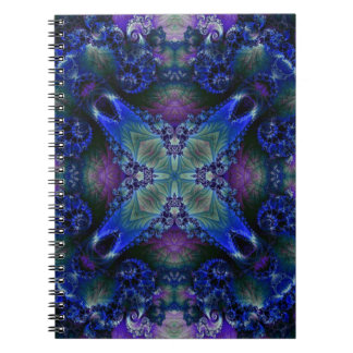 Kaleidoscope Fractal 531 Notebook