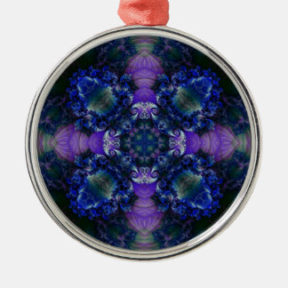 Kaleidoscope Fractal 533 Christmas Ornament