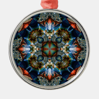 Kaleidoscope Fractal 576 Christmas Ornament