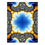 Kaleidoscope Fractal 581 Postcard